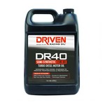 DRIVEN RACING OIL DR40 High Zinc Semi-Syn Diesel Oil 15w40 1 Gal. 5408