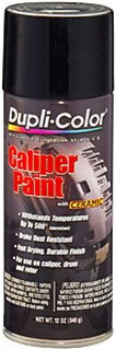 DUPLI-COLOR KRYLON Brake Caliper Black Paint 12oz BCP102