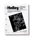 HOLLEY Carburetor Numerical Listing Guide 36-168