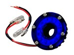 KC HILITES 2in Mini Accessory Light LED Blue - Cyclone Light 1354
