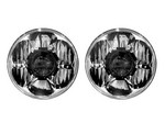KC HILITES Headlight Gravity LED Pr o 7in DOT Jeep JK 07-15 42341