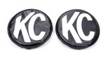 KC HILITES 6in Blk kc Covers  5100