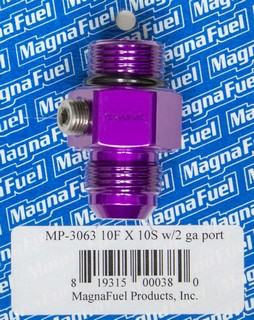 MAGNAFUEL #10 Male Port to #10 Adapter Fitting MP-3063
