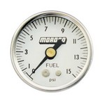 MOROSO Fuel Pressure Gauge 0-60 PSI 1-1/2in White 65372