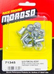MOROSO Steel Quick Fasteners- Oval Head-5/16in x .5in 71345