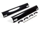 MSD Atomic Fuel Rail Covers Black 2974