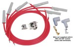 MSD 8.5MM Spark Plug Wire Set - Red 31179