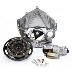 QUARTER MASTER Alum Bellhousing Package 5.5in V Rear Mount Start 10038590