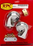 RACING POWER CO Chrome Hi-Lo Car Horn  R1011