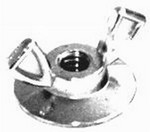 RACING POWER CO Small Air Cleaner Wing Nut R2181