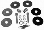 RACING POWER CO Universal Hood Lock Set  R4062