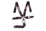 RJS SAFETY 5 PT Harness System Q/R Black Ind Wrap 3in Sub 1034901