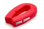 RJS SAFETY Neck Collar Horseshoe Red SFI 11000504