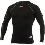 SIMPSON SAFETY Underwear Top Large Black Memory Fit 20123LK