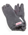 SIMPSON SAFETY Drag Glove Large Black Holeshot SFI-20 37015LK