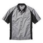 SIMPSON SAFETY Talladega Crew Shirt Lg Grey 39012LG