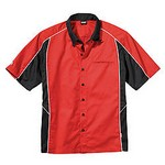 SIMPSON SAFETY Talladega Crew Shirt Lg Red 39012LR