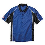 SIMPSON SAFETY Talladega Crew Shirt Med Blue 39012MB