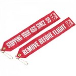 SIMPSON SAFETY Chute Tag Remove Before Flight CHUTFLAG