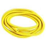 TAYLOR VERTEX Convoluted Tubing 1/4in x 10' Yellow 38091