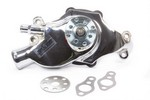 TUFF-STUFF 55-71 SBC Water Pump Short Chrome 1354NAS