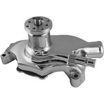 TUFF-STUFF 55-71 SBC Water Pump Short Chrome SuperCool 1354NBS