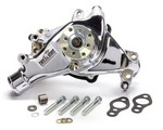 TUFF-STUFF 69-96 SBC Water Pump Long Chrome SuperCool 1448NA