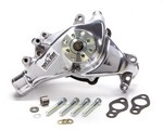 TUFF-STUFF 69-96 SBC Water Pump Long Polished SuperCool 1448NB