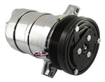 TUFF-STUFF LT1 A/C Compressor Chrome 4511NA