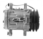 TUFF-STUFF Peanut A/C Compressor Double Pulley Plain 4517NCDP