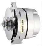 TUFF-STUFF GM Alternator 140 amp 1- Wire Chrome 12 Clocking 7127NK12