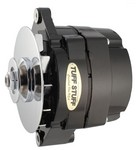 TUFF-STUFF GM Alternator 140 amp 1- Wire Black 9 Clocking 7127NKB9