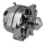 TUFF-STUFF GM Alternator Silver Bul let 140 amp 1-Wire Pol. 7140BBULL6G