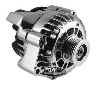 TUFF-STUFF GM LS1 Alternator 105A Polished Aluminum 8242NAP