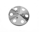 TUFF-STUFF A/C Compressor Machined Aluminum Clutch Cover 8490B