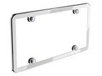 WEATHERTECH Stainless License Plate Frame 8ALPSS1