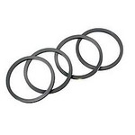 WILWOOD Square O-Ring Kit - 1.75/1.38/1.38 130-3084