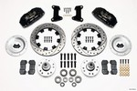 WILWOOD Front Disc Brake Kit 74- 78 12.19in Drilled Rotor 140-10742-D