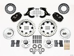 WILWOOD Front Brake Kit 55-57 Chevy 140-11010-D