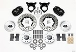 WILWOOD P/S Front Kit 87-93 Mustang 10.75in Rotor 140-11018-D