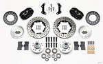 WILWOOD Front Disc Kit Mopar B&E Body HD for Disc Special 140-11021-D