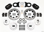 WILWOOD Front Disc Kit HD 65-69 Mustang Drilled 140-11072-D