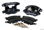WILWOOD Front Caliper Kit D52/ Big GM Blk Powder 140-11291-BK