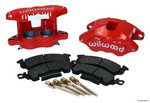 WILWOOD Front Caliper Kit D52/ Big GM Red Powdercoat 140-11291-R