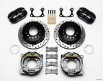 WILWOOD Rear Disc Brake Kit Big Ford Drilled w/Park Brk 140-11387-D