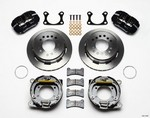 WILWOOD Rear Disc Brake Kit Big Ford w/Parking Brake 140-11387