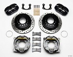 WILWOOD Rear Disc Brake Kit Big Ford Drilled 140-11389-D