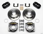 WILWOOD Rear Disc Brake Kit Sml. Ford w/Parking Brake 140-11403