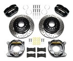 WILWOOD Rear Brake Kit GM w/Park Drilled 140-11827-D
