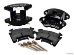 WILWOOD Front Caliper Kit D154/ Metric GM Blk Powdercoat 140-12097-BK